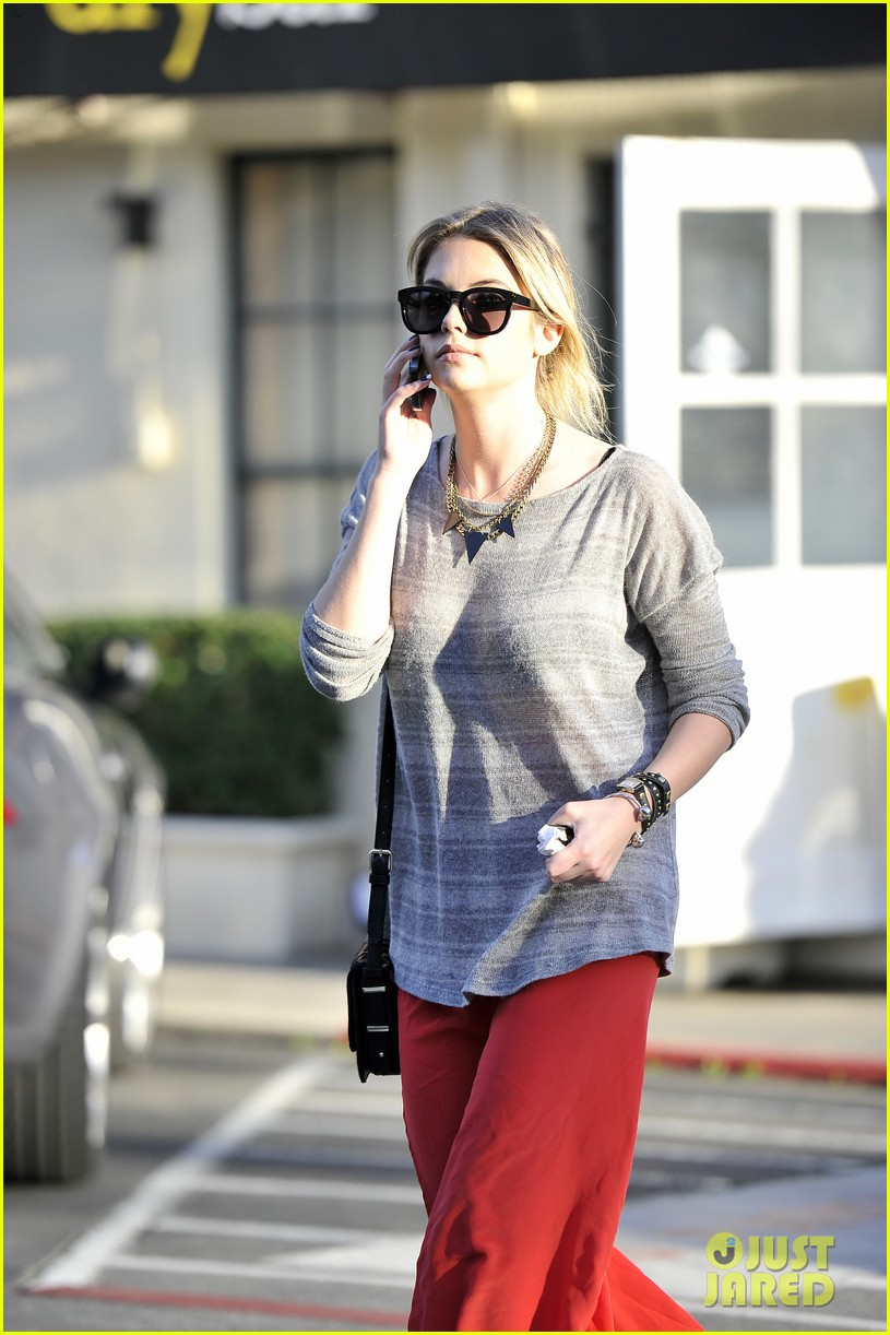 ashley benson sunday skirt sneakers 03