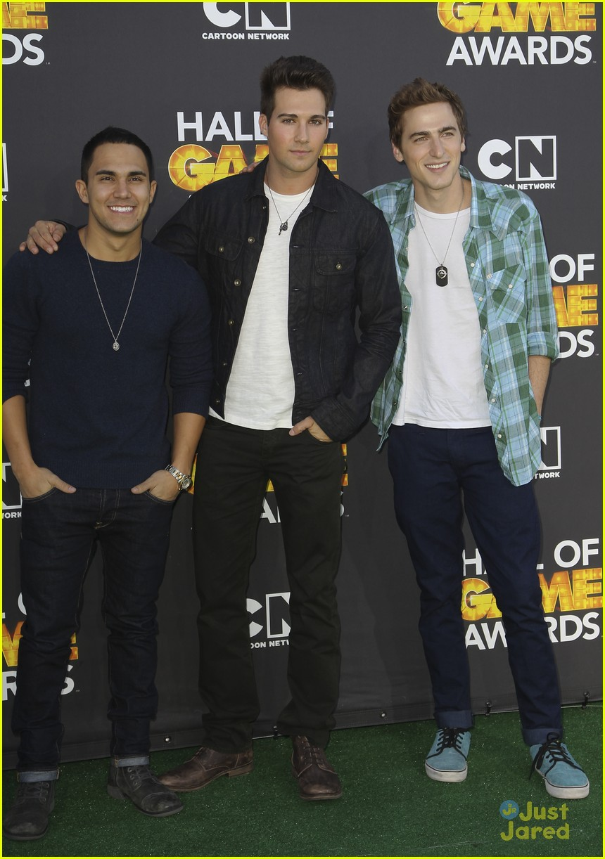 big time rush level up hall game awards 15