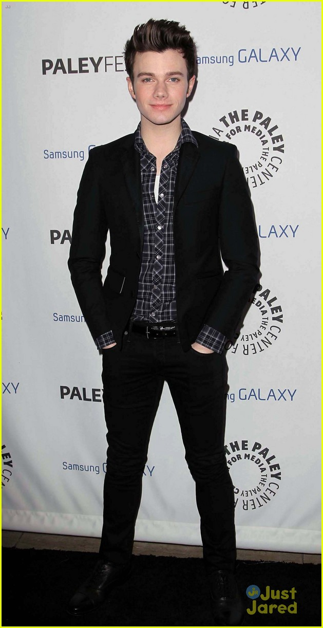 chris colfer darren criss inaugural paleyfest icon award event 01