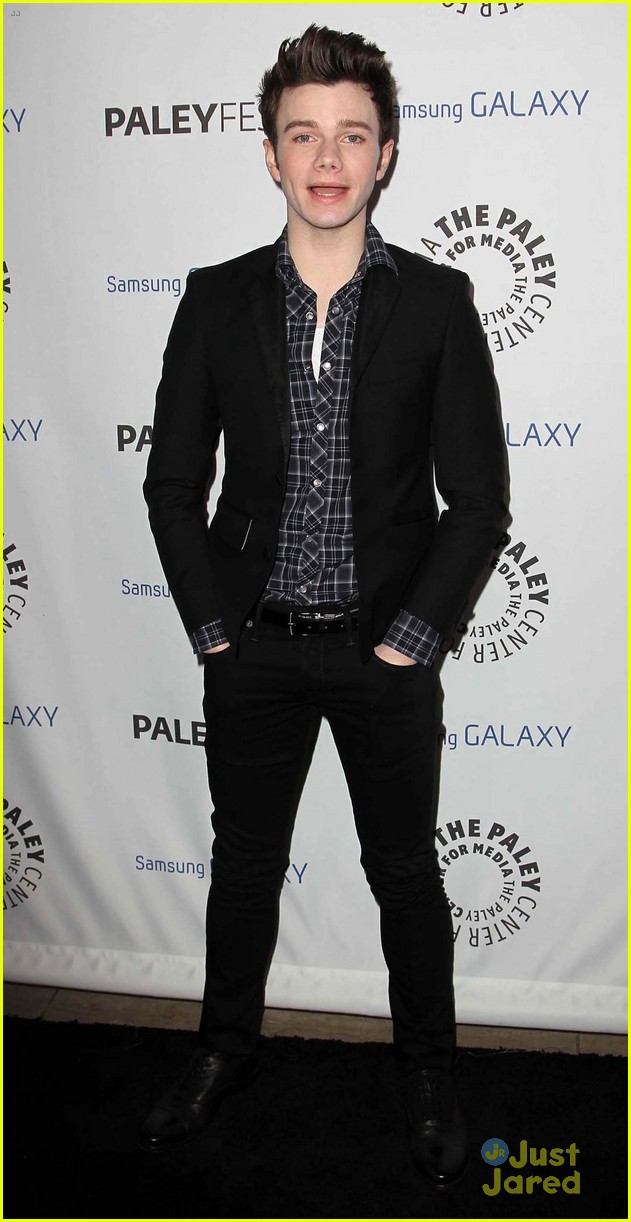 chris colfer darren criss inaugural paleyfest icon award event 03