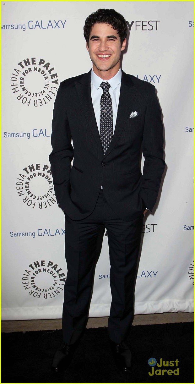 chris colfer darren criss inaugural paleyfest icon award event 04