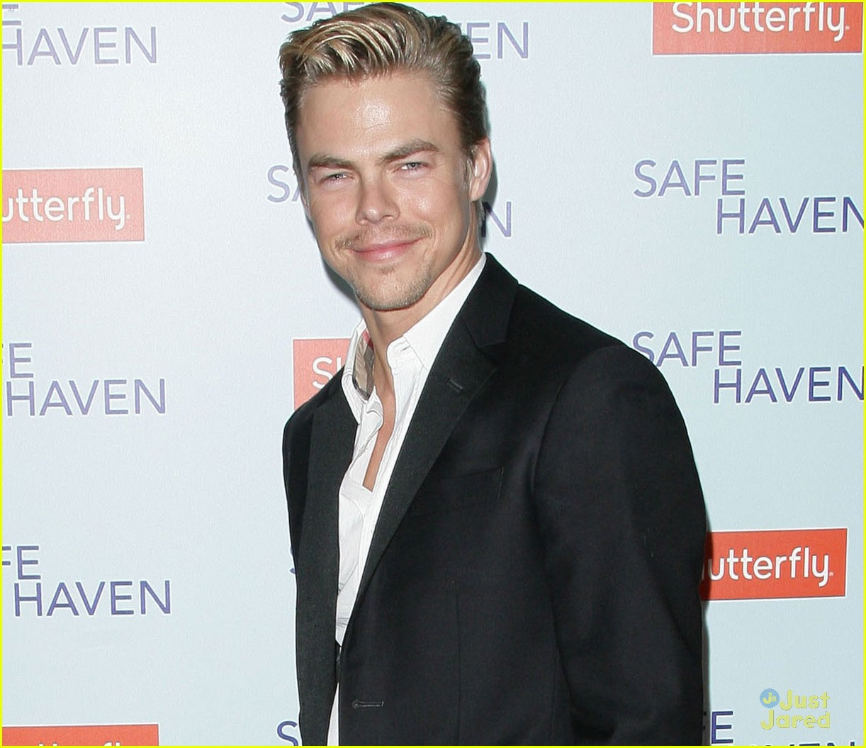derek hough safe haven premiere 05