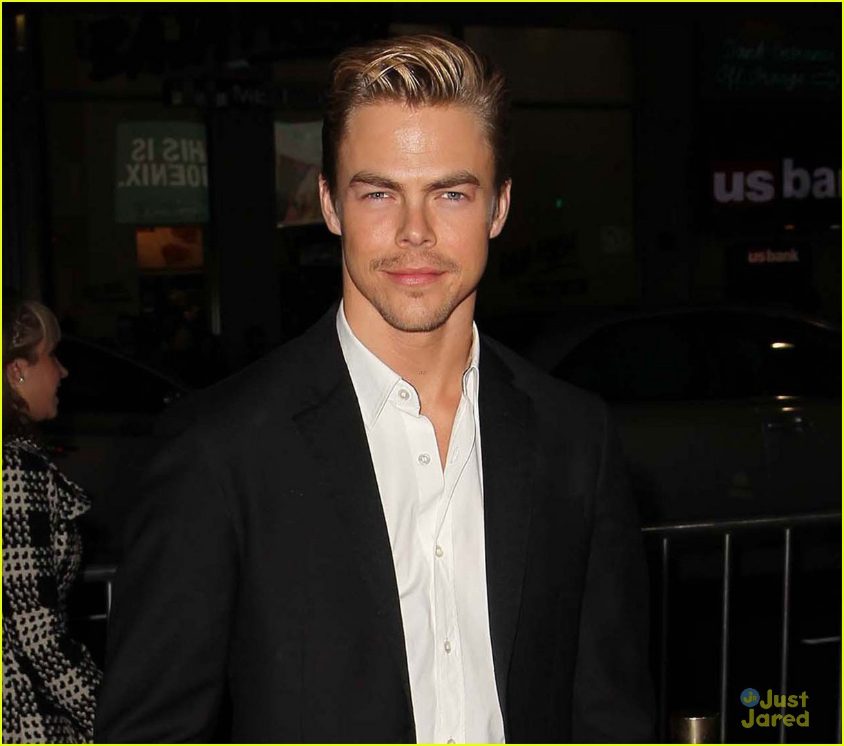 derek hough safe haven premiere 06