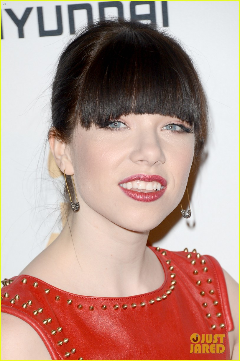 carly rae jepsen clive davis grammy party 08