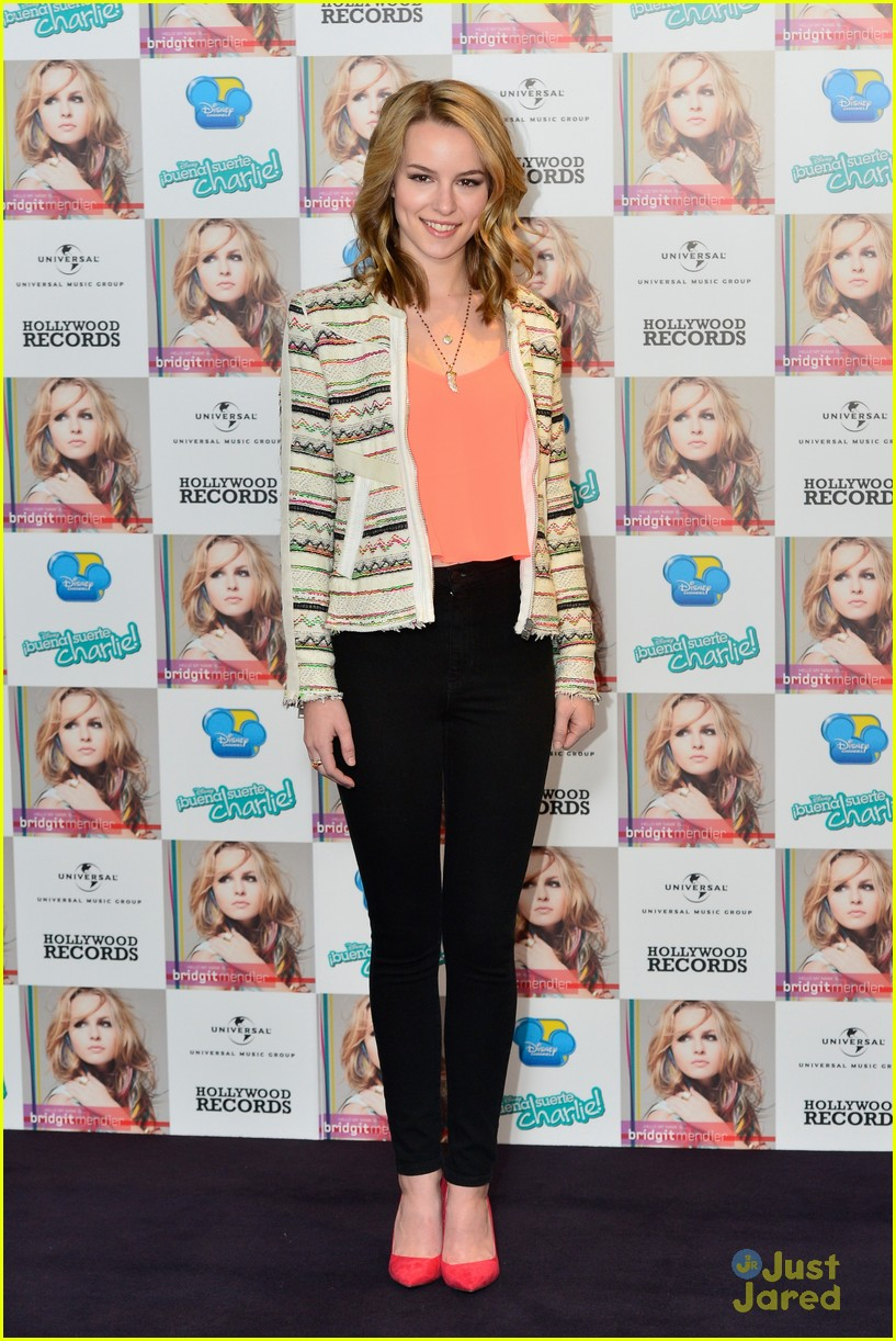 bridgit mendler madrid album photocall 06