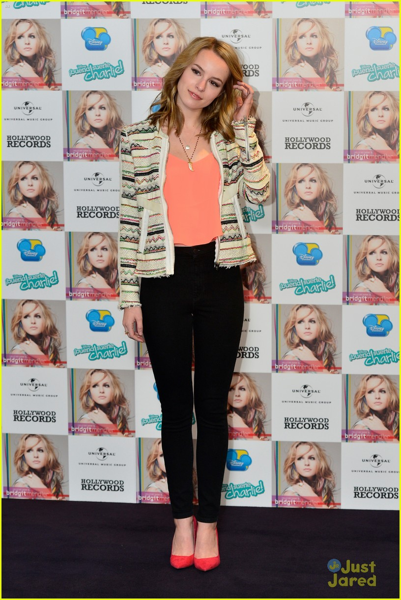 bridgit mendler madrid album photocall 11