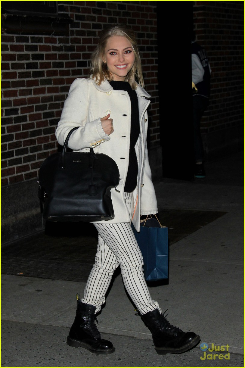 annasophia robb letterman tonight 04