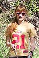 Thorne-sbhike lea michele cory montieth post super bowl movie 05