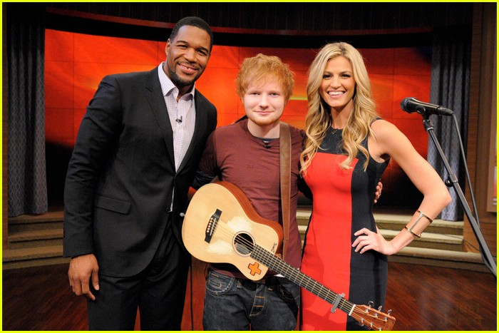 ed sheeran live kelly michael 01