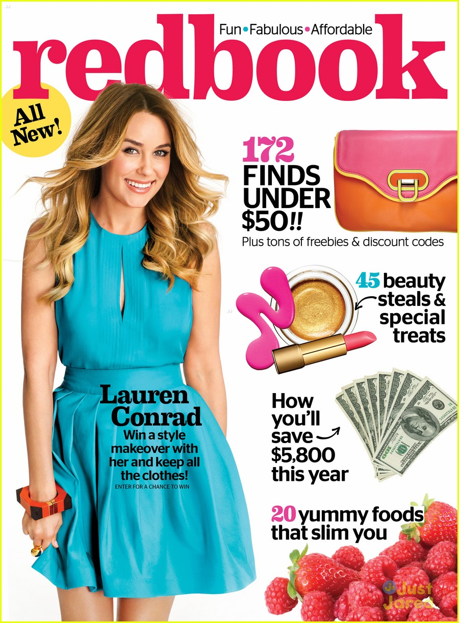 lauren conrad redbook april 01