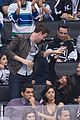 Lea-canucksco cory monteith lea michele canucks game cute 06