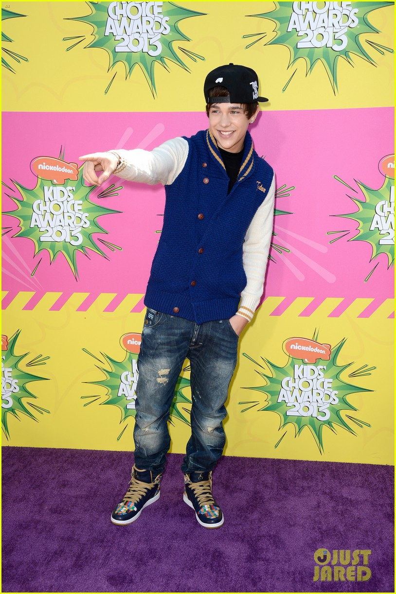 austin mahone kids choice awards 01