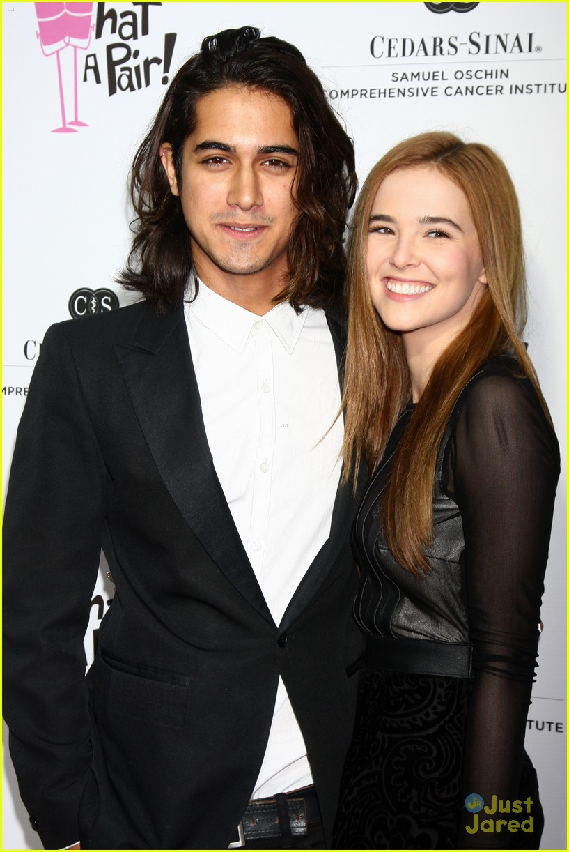 avan jogia zoey deutch janel parrish what a pair event 03