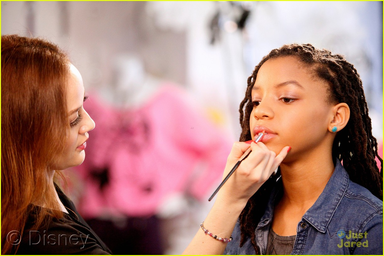 chloe halle bailey minnie makeovers 08