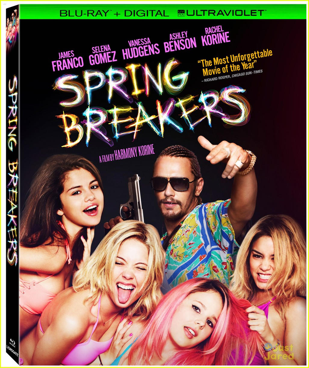 Spring Breakers Movie DVD