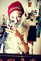 Cyrus-insta miley cyrus officially joins instagram 04