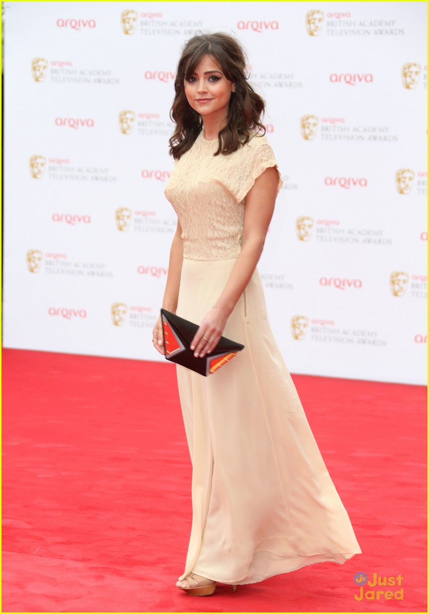 jennalouise coleman bafta television awards 2013 photo