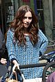 Lily-stroller lily collins pushes stroller on love rosie set 02