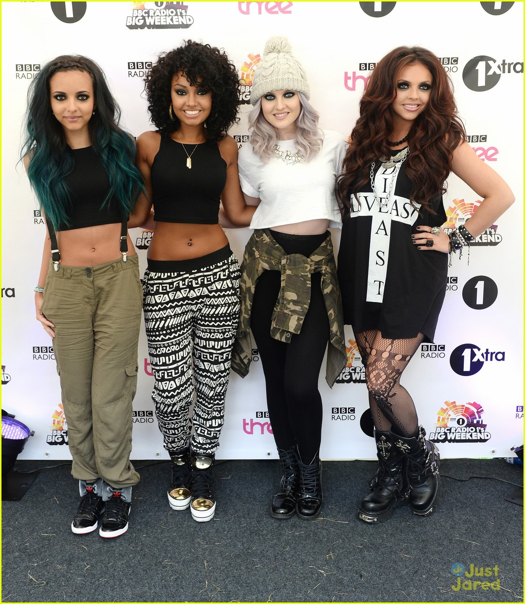 little mix bbc radio 1 concert performers 10