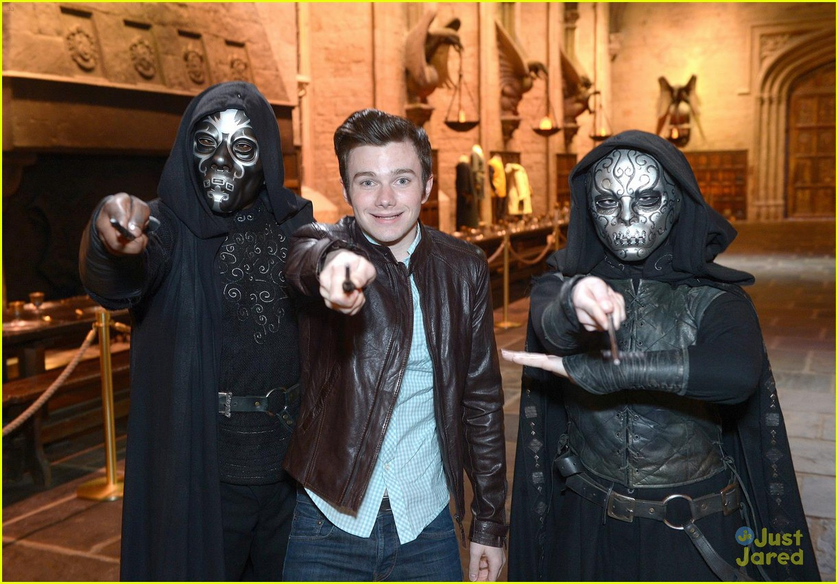 chris colfer hp studio tour london 01