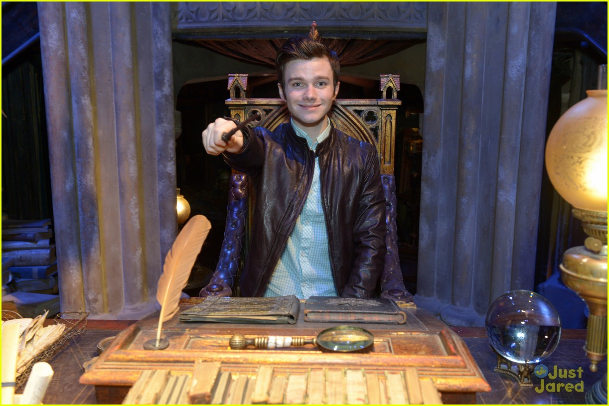 chris colfer hp studio tour london 18