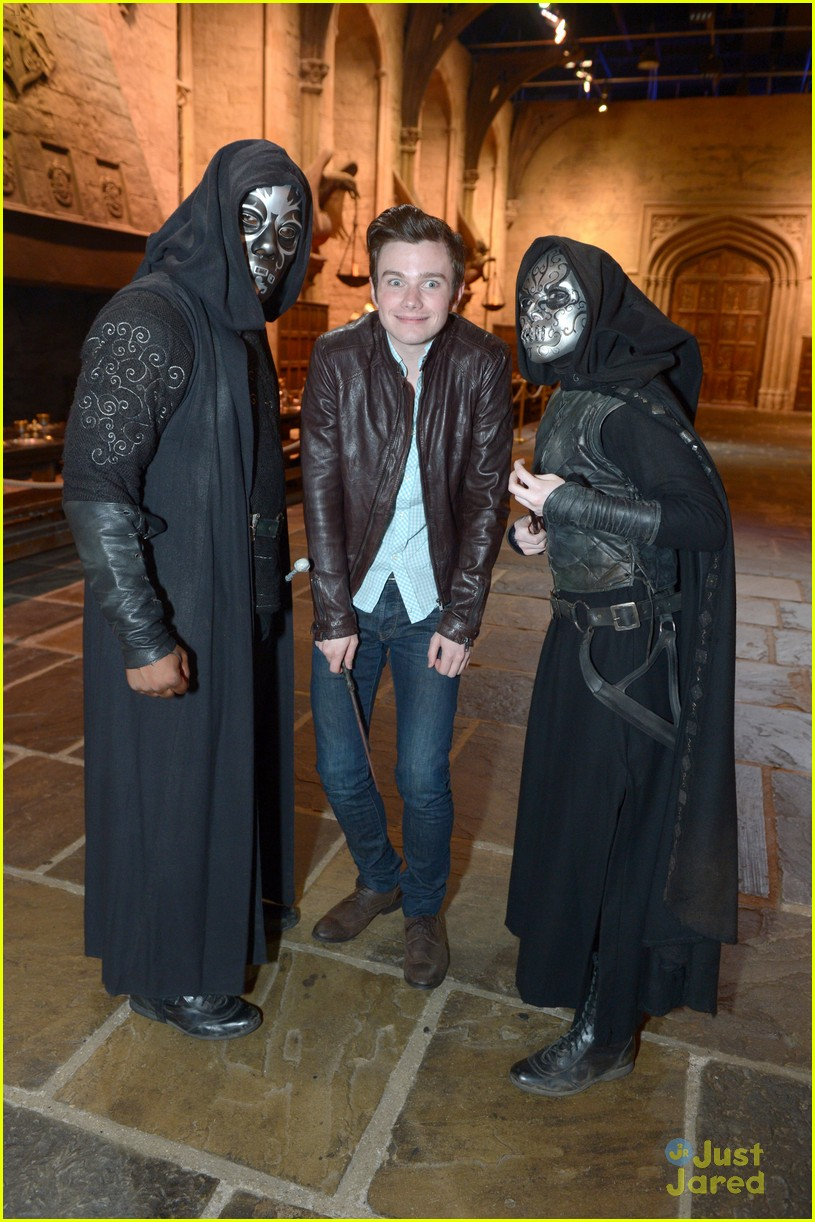 chris colfer hp studio tour london 28