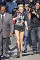 Cyrus-jklarr3 miley cyrus jimmy kimmel live arrival 2 01