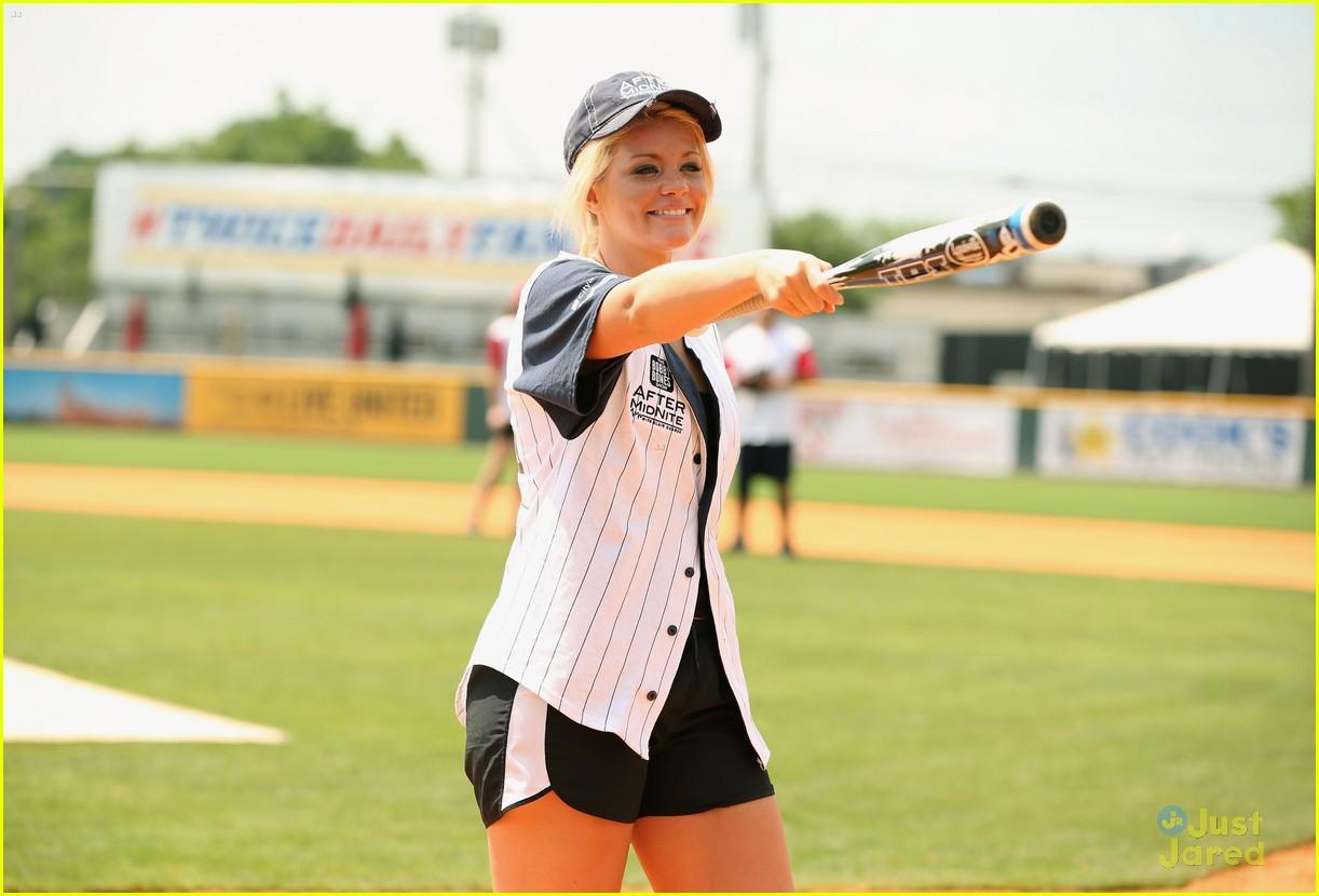 lauren alaina city hope softball game 14