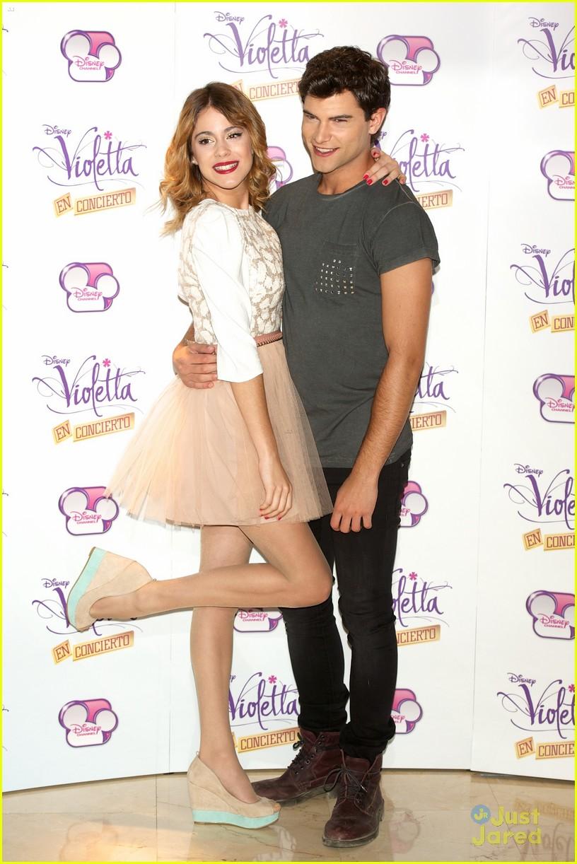 Violetta, le concert DVD - Martina Stoessel - Jorge Blanco