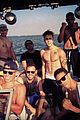 Biebs-wake justin bieber shirtless wakeboarder 02