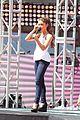 Austin-ariana ariana grande austin mahone vma pre show soundcheck 10