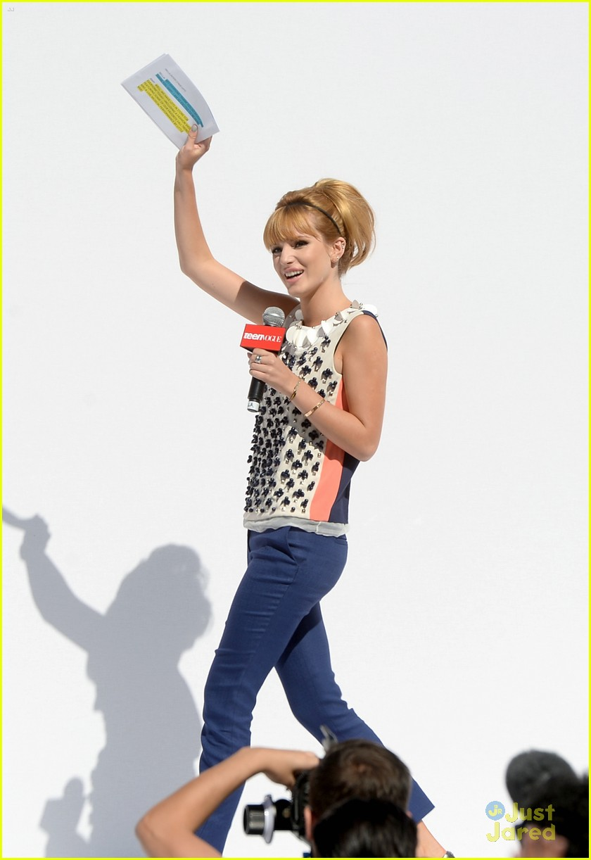 bella thorne maude apatow tv bts event 23