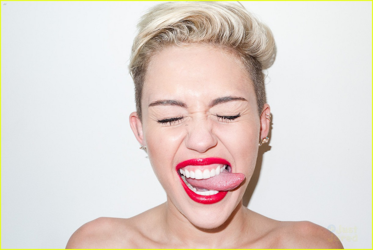 Miley Cyrus gets silly in this brand new photo shoot with famed