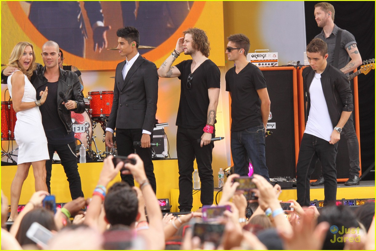 the wanted gma performance 13