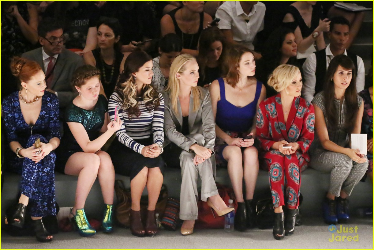 Candice Accola Front Row At Nanette Lepore Fashion Show Photo 596944 Photo Gallery Just