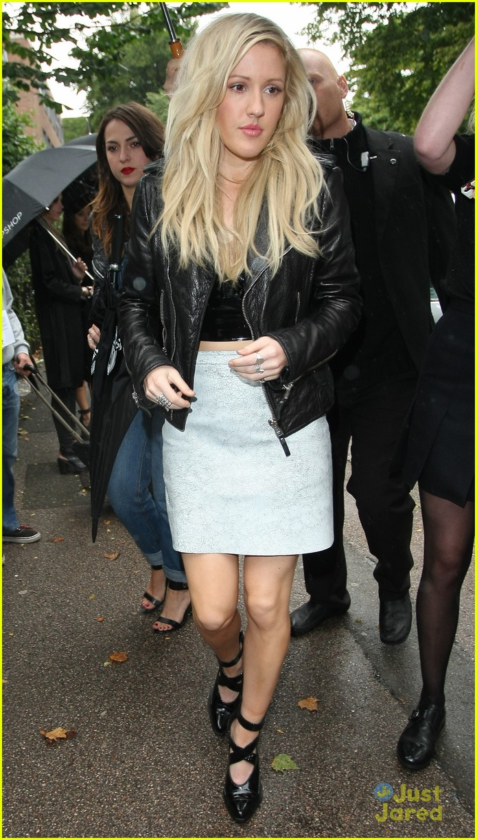 ellie goulding topshop front row 01