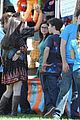 Ariel-nolan ariel winter nolan gould mf fair filming 11