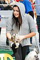 Awinter-furry ariel winter makes a furry friend at the farmers market 11