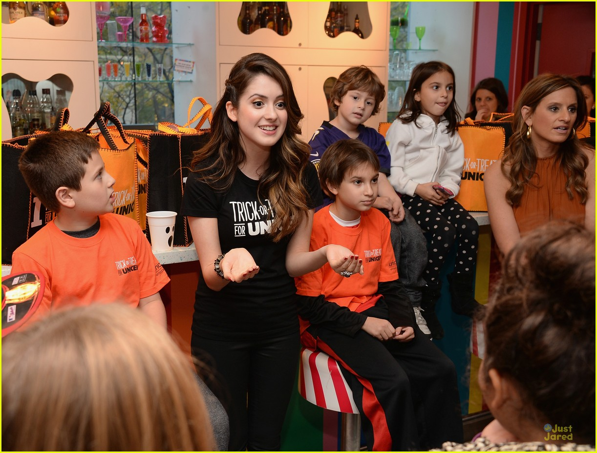 laura marano trick treat dylans candy bar nyc 06