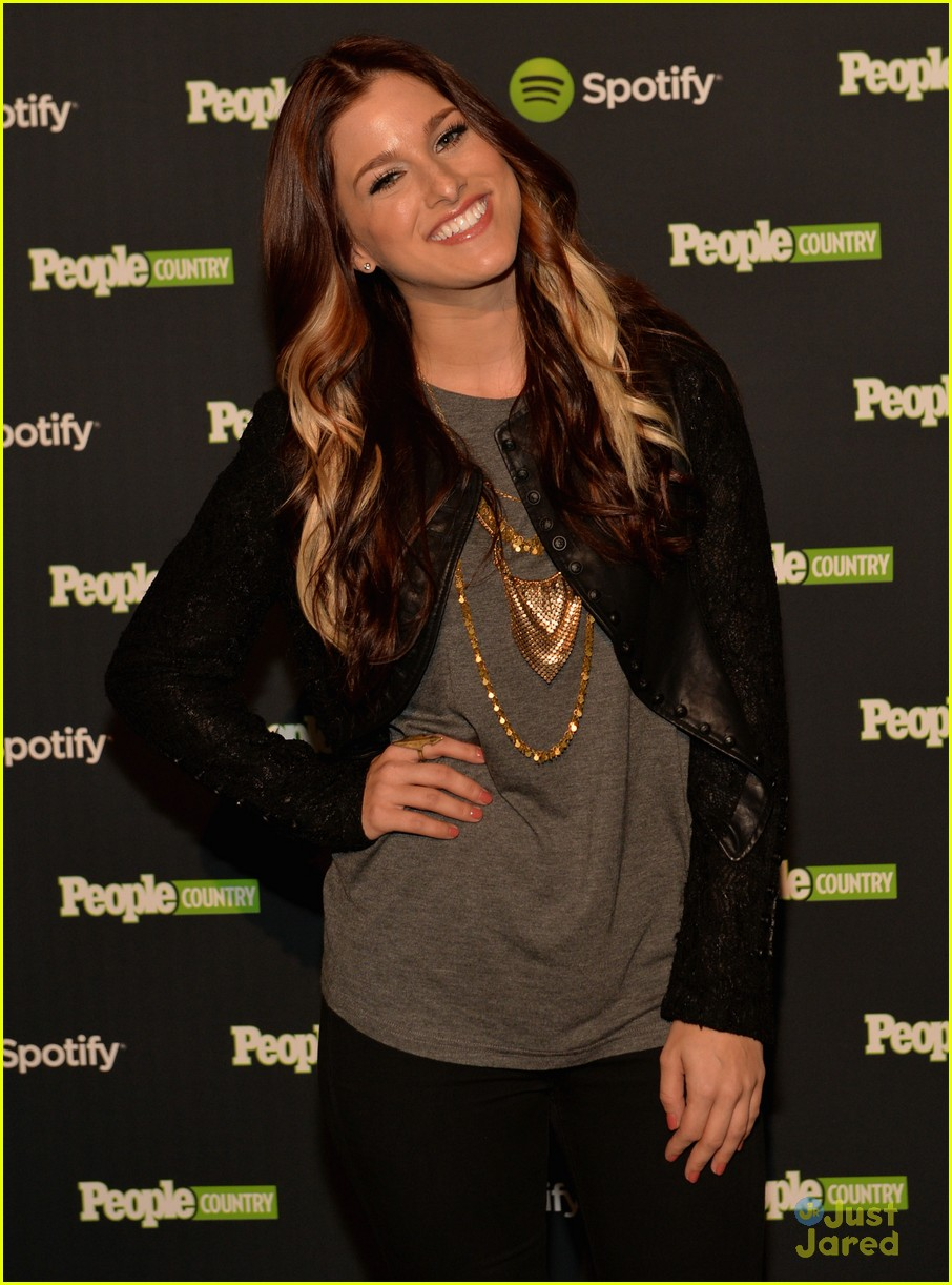 cassadee pope lucy hale spotify event 10