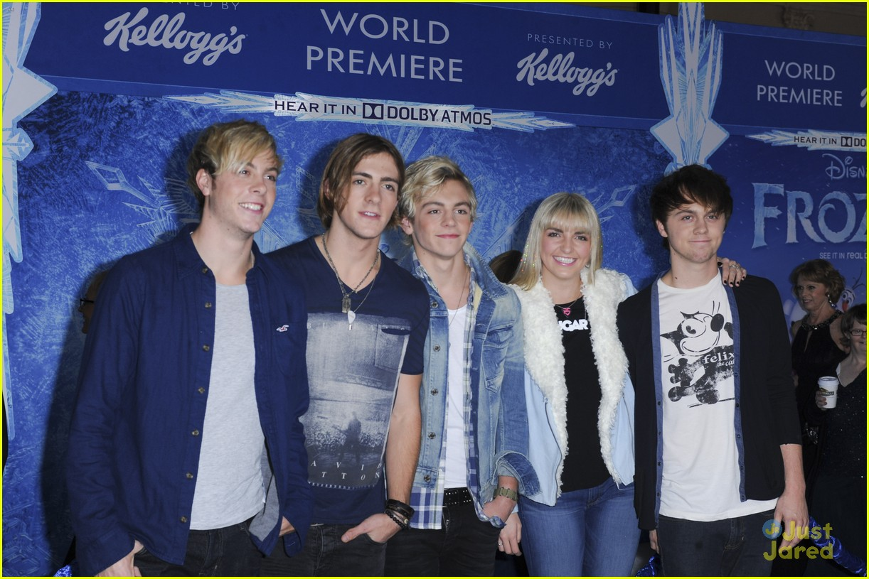r5 china mcclain frozen premiere attendees 06