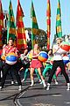 Tbm-parade ross lynch maia mitchell teen beach movie disney christmas parade 01