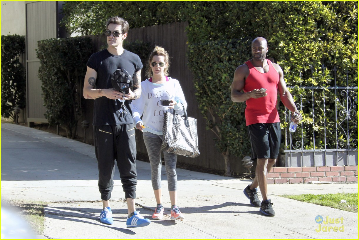 ashley tisdale christopher french mid week workout 12