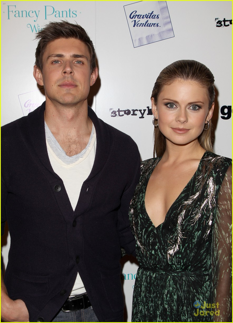 rose mciver chris lowell brightest star la premiere 14