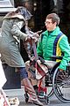 Kevin-chair kevin mchale wheelchair crash glee scenes 14