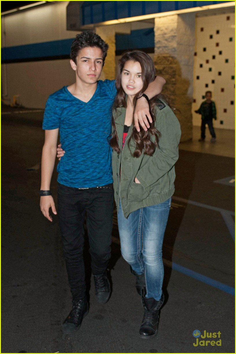 Paris Berelc & Aramis Knight: Roller Skating Date! | paris berelc ...