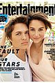 TFIOS-ew shailene woodley ansel elgort fault in our stars entertainment weekl cover 01