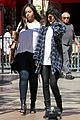 Jenners-coasts kendall jenner leaves nyc kylie jenner gas lunch 07