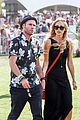 Laura-tom laura vandervoort tom welling reunion coachella 06