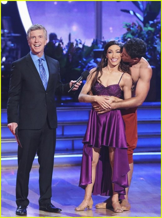 Dancing with the stars max hookup meryl
